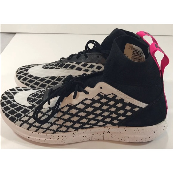 Nike Other - Nike Men's Free Hypervenom III Flyknit Black Pink